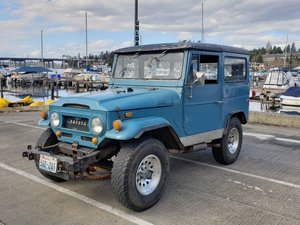 1968 Toyota Land Cruiser FJ40 For Sale by Auction