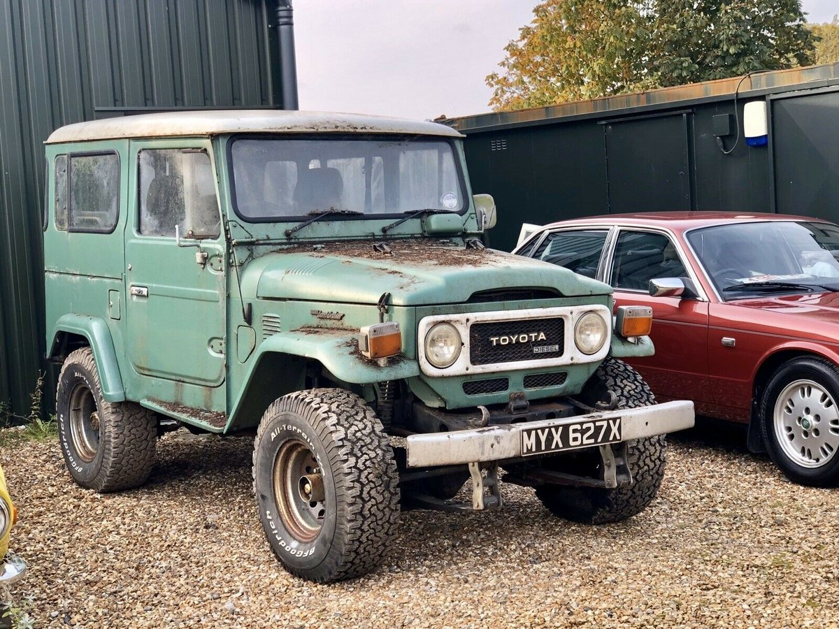 1982 Toyota BJ40 Landcruiser - Barnfind - Rare RHD For Sale (picture 1 of 6)