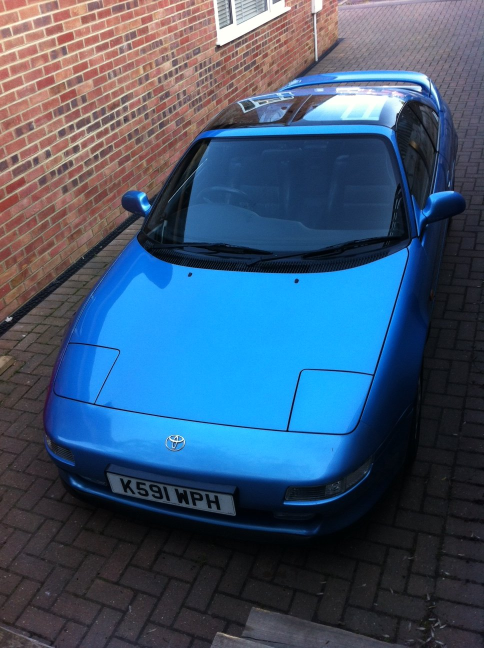 1992 MR2 gt t-bar. Leather. air-con. 79k miles. For Sale (picture 1 of 5)