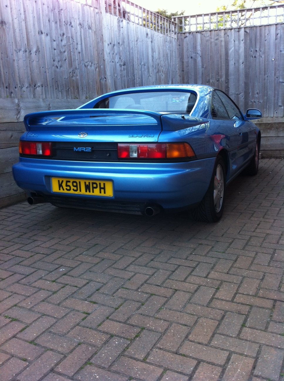 1992 MR2 gt t-bar. Leather. air-con. 79k miles. For Sale (picture 2 of 5)