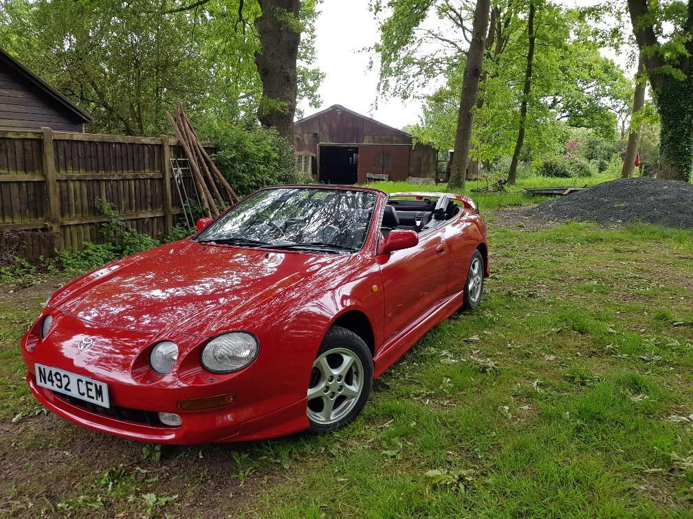 1996 Toyota Celica GT convertible outstanding condition SOLD (picture 1 of 6)