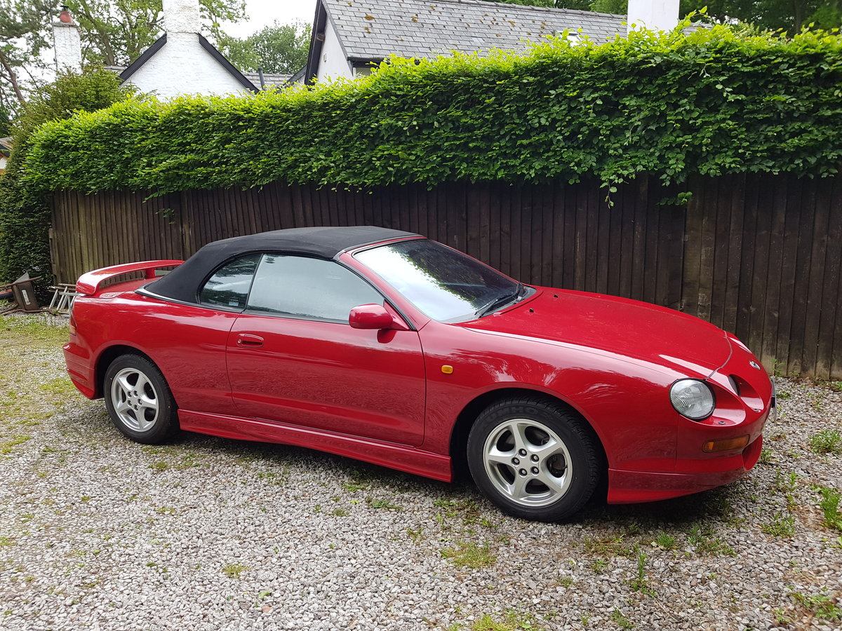 1996 Toyota Celica GT convertible outstanding condition SOLD (picture 2 of 6)