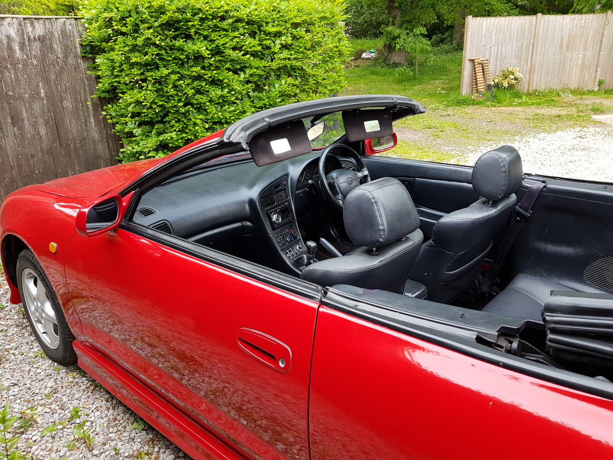 1996 Toyota Celica GT convertible outstanding condition SOLD (picture 3 of 6)