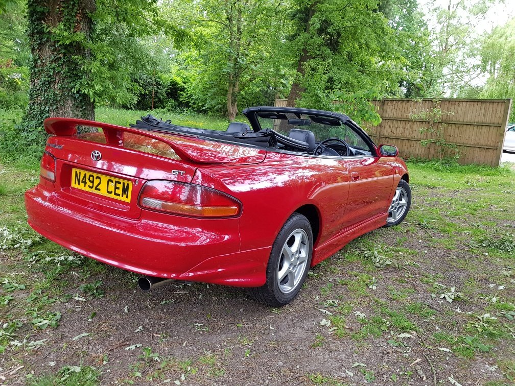 1996 Toyota Celica GT convertible outstanding condition SOLD (picture 4 of 6)