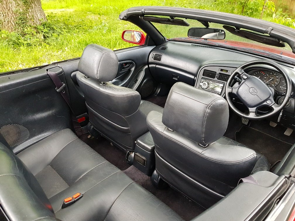1996 Toyota Celica GT convertible outstanding condition SOLD (picture 5 of 6)