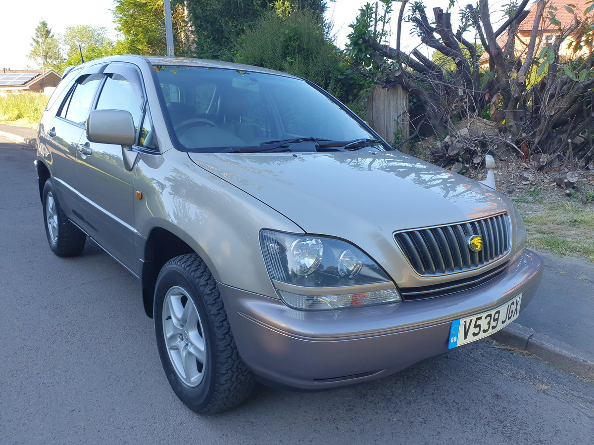 1999 Toyota Harrier 3.0 V6 24v.. Lexus RX.. Low Miles + Top Spec  For Sale (picture 2 of 6)