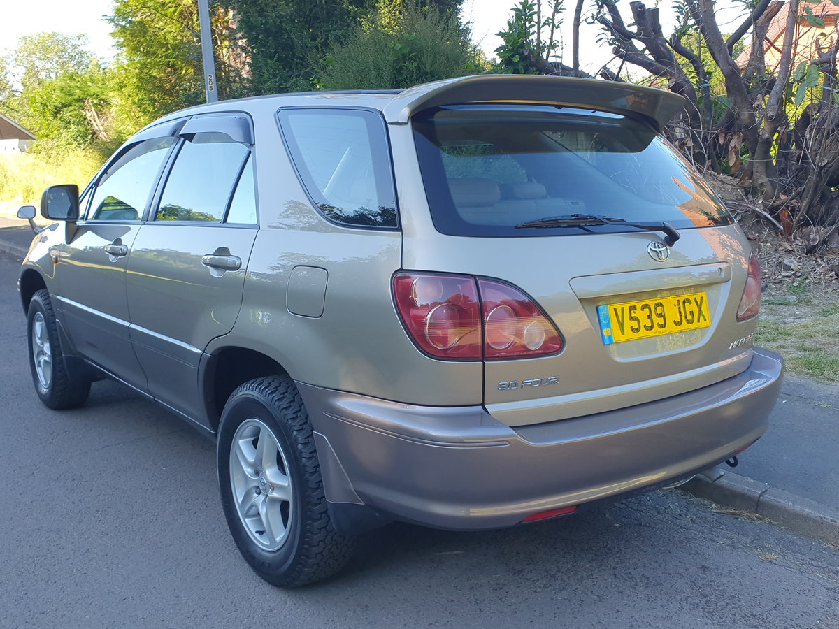 1999 Toyota Harrier 3.0 V6 24v.. Lexus RX.. Low Miles + Top Spec  For Sale (picture 5 of 6)