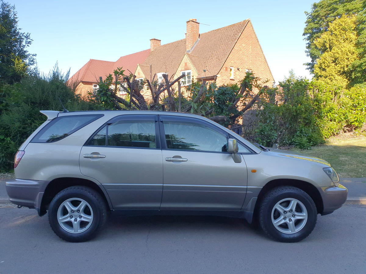 1999 Toyota Harrier 3.0 V6 24v.. Lexus RX.. Low Miles + Top Spec  For Sale (picture 6 of 6)