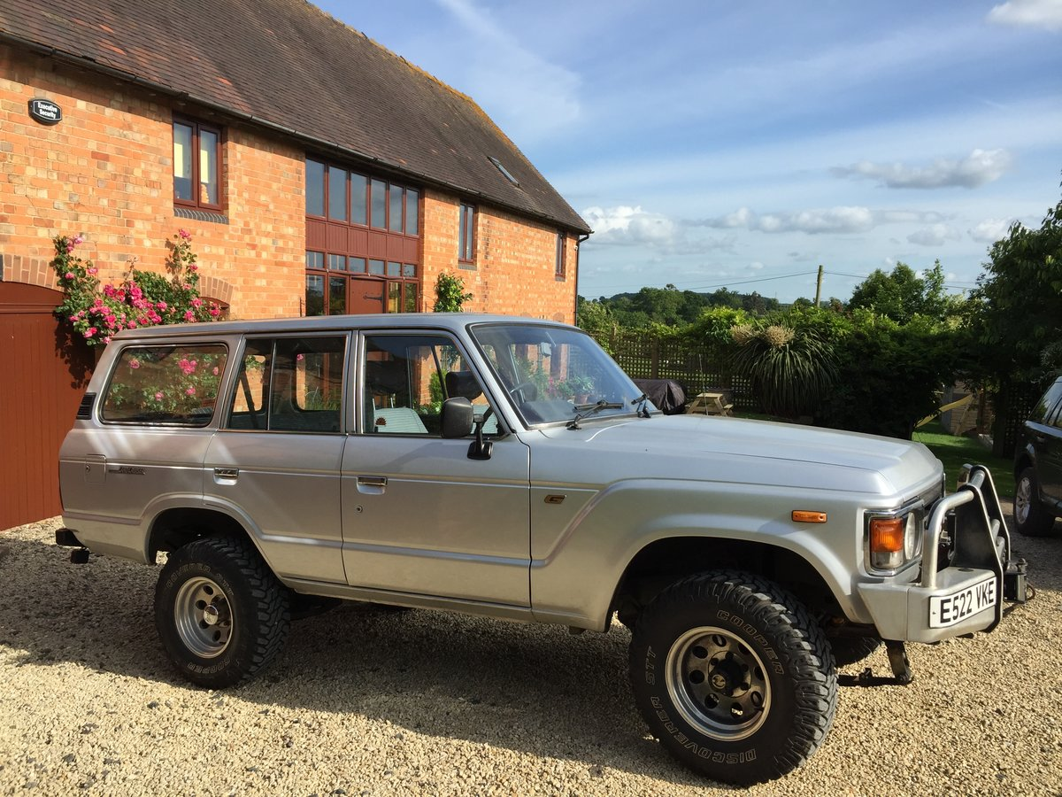 1987 Toyota Land Cruiser FJ60 - Very rare and cool SOLD (picture 1 of 6)