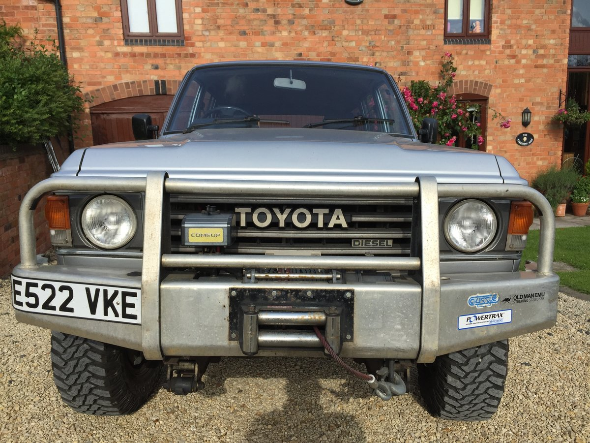 1987 Toyota Land Cruiser FJ60 - Very rare and cool SOLD (picture 3 of 6)