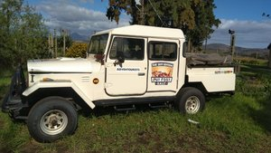 Toyota Land cruiser FJ45 RHD crew cab pick up