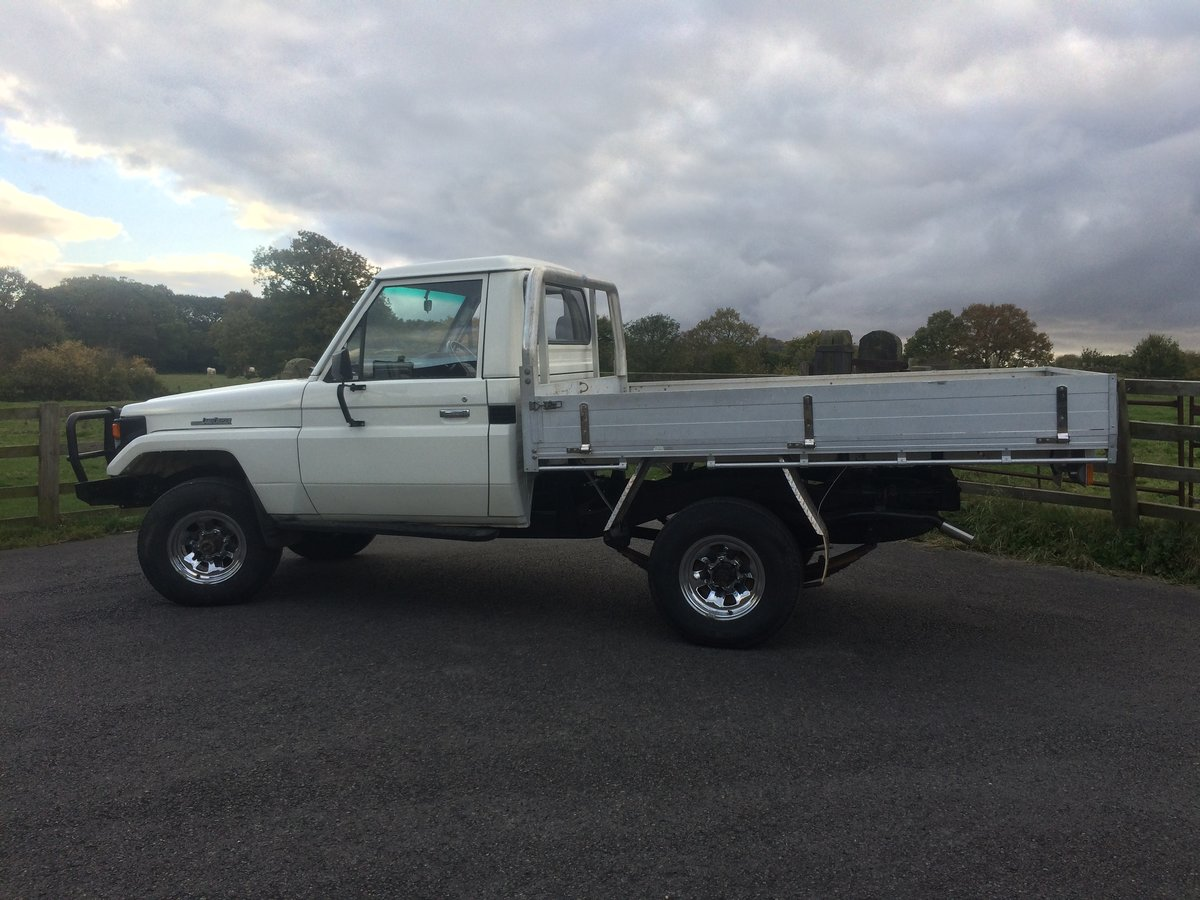 1990 Toyota HZJ 79 Landcruiser pickup For Sale (picture 4 of 6)