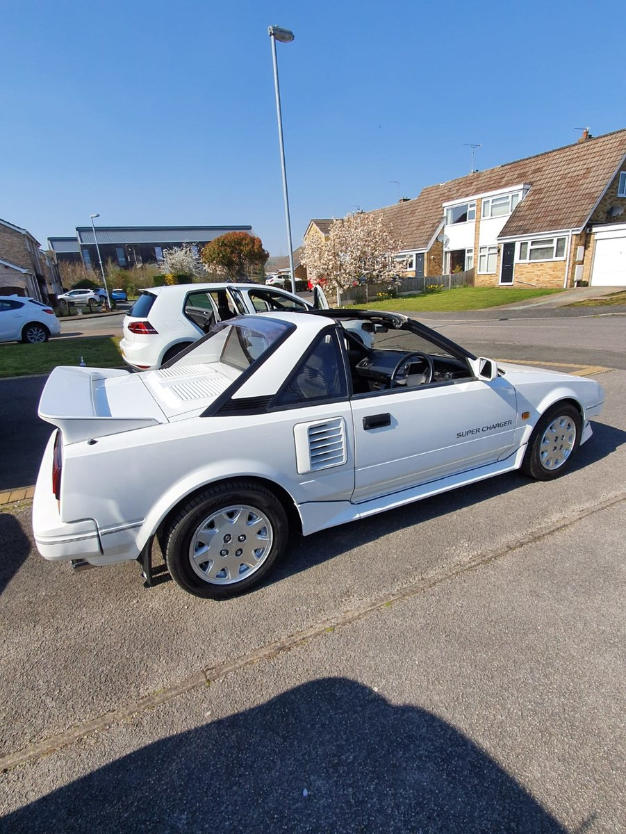 1988 Toyota Mr2 Mk1 Aw11 JDM supercharger T-bar SOLD (picture 2 of 6)