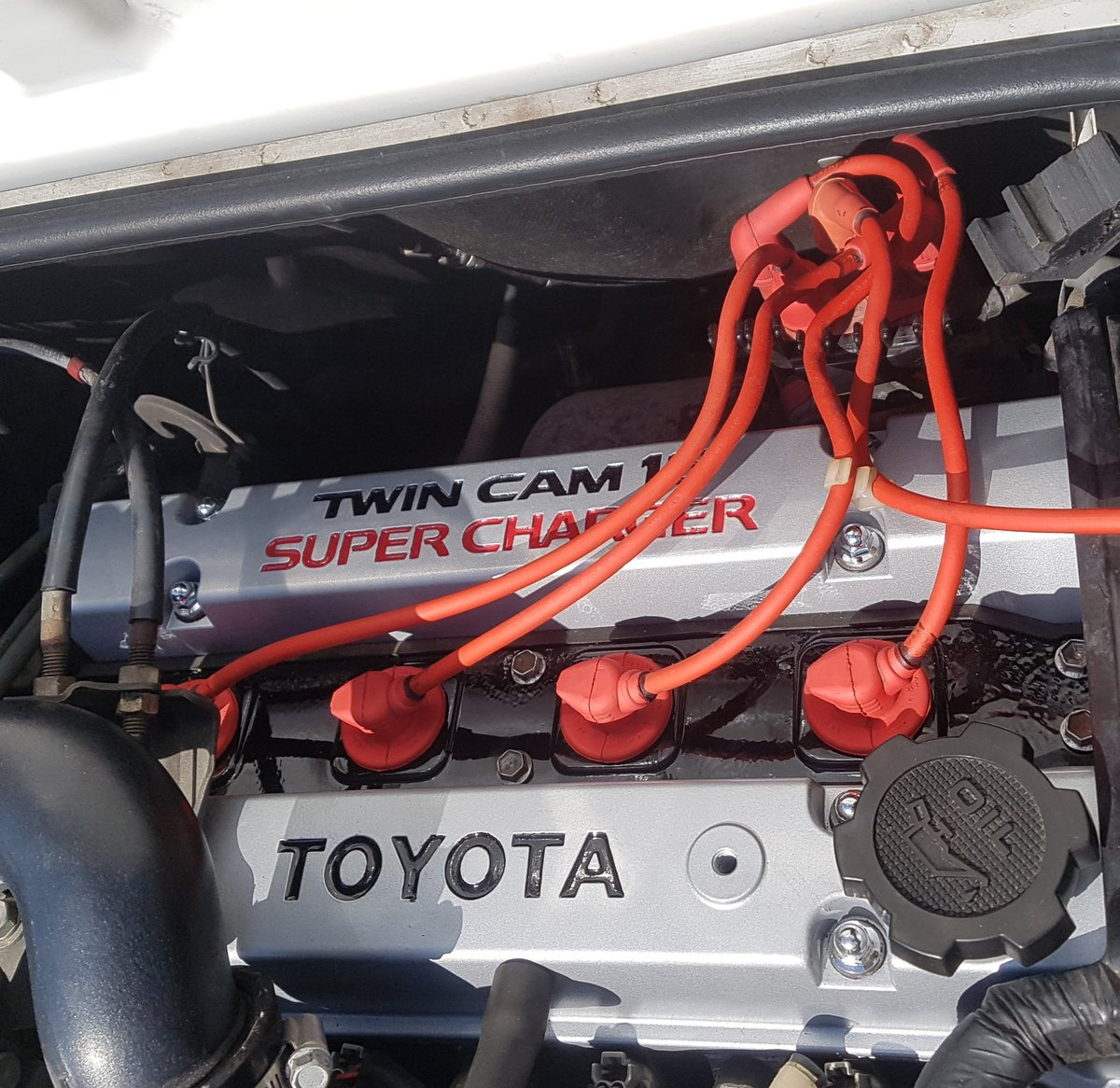 1988 Toyota Mr2 Mk1 Aw11 JDM supercharger T-bar SOLD (picture 4 of 6)