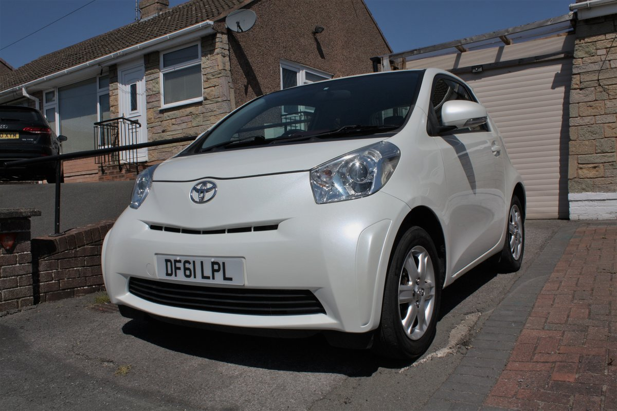 2012 Toyota IQ VVTi 1.0 93k Free Road Tax For Sale (picture 1 of 6)