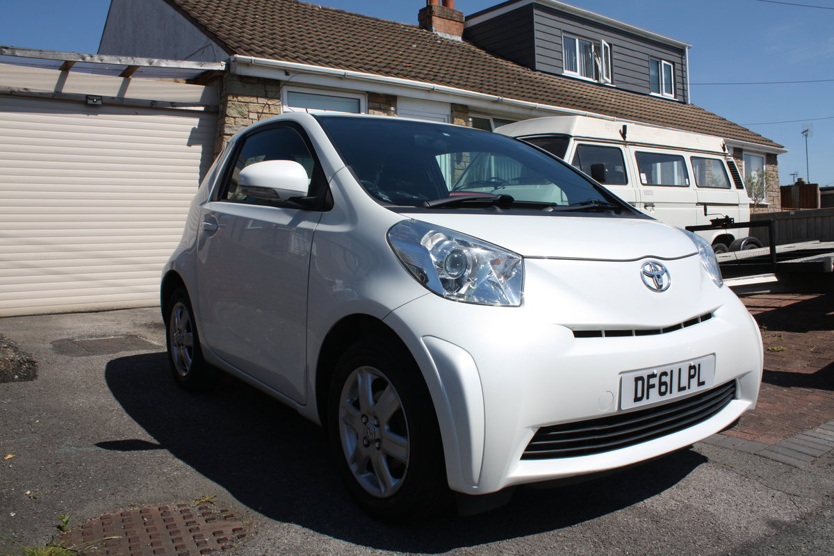 2012 Toyota IQ VVTi 1.0 93k Free Road Tax For Sale (picture 2 of 6)