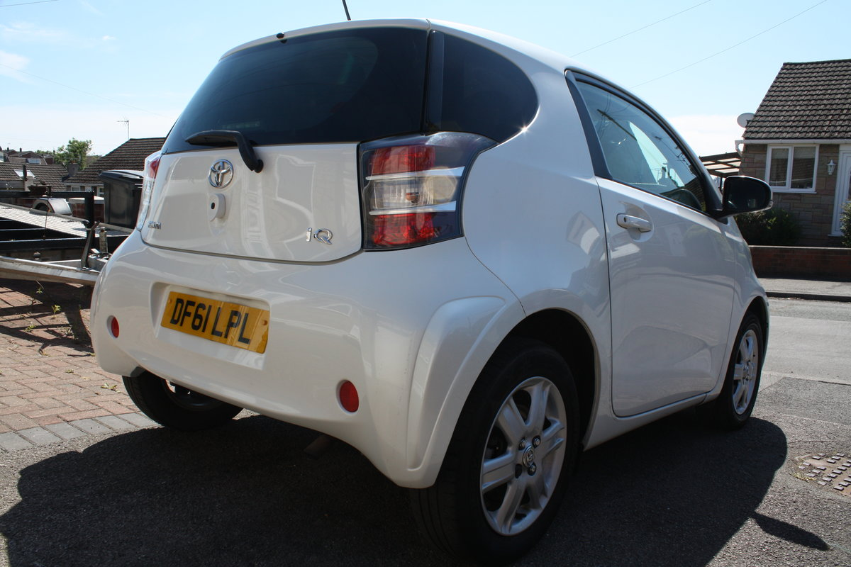 2012 Toyota IQ VVTi 1.0 93k Free Road Tax For Sale (picture 4 of 6)
