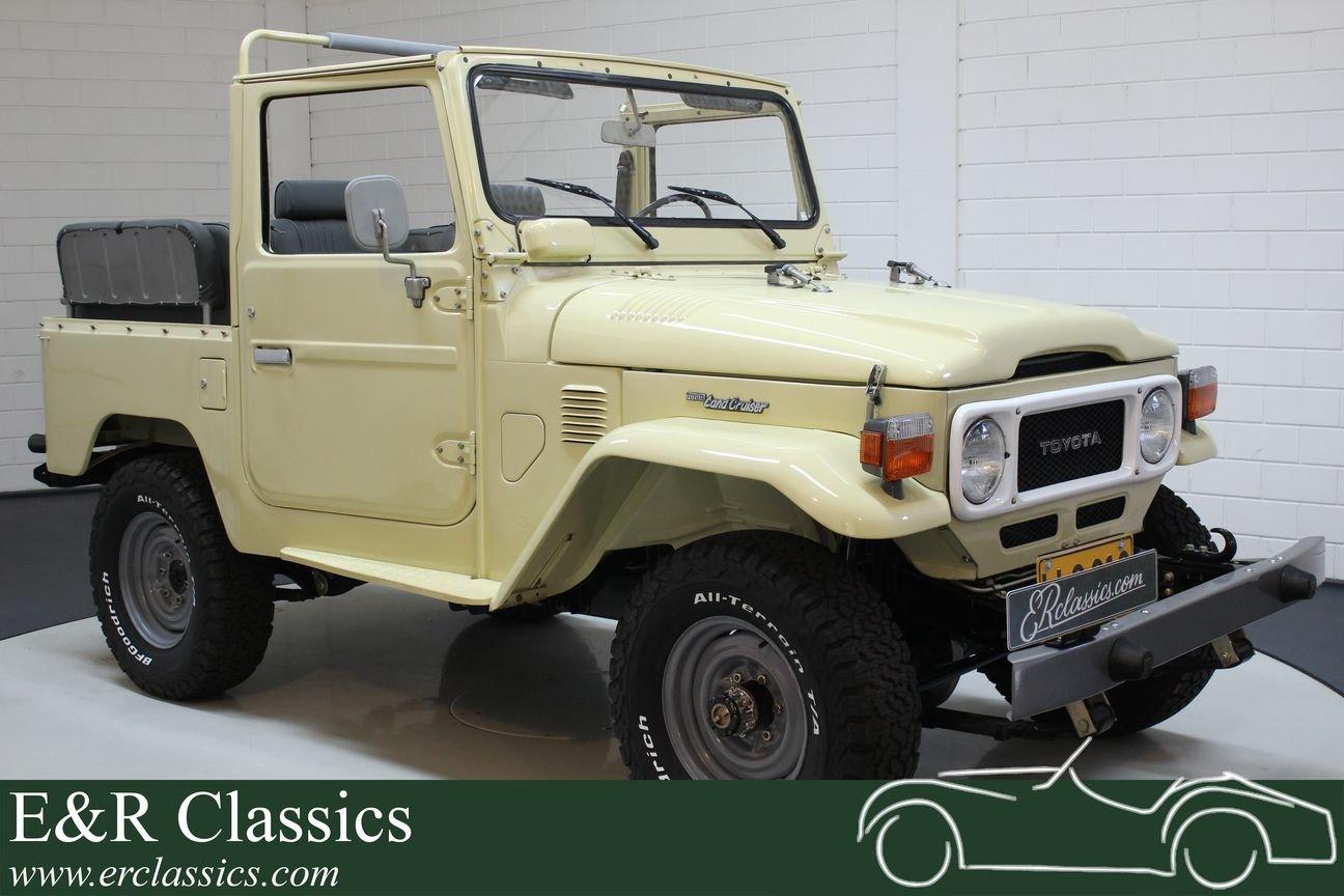Toyota Landcruiser FJ40 1983 restored For Sale (picture 1 of 6)