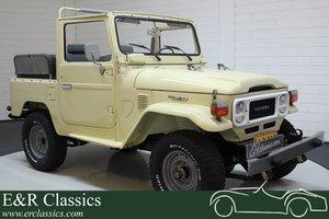 Toyota Landcruiser FJ40 1983 restored