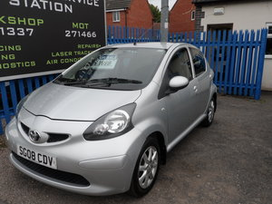 2008 TOYOTA AYGO 1LTR Platinum 5 DOOR JUST 51,000 MILES LONG MOT