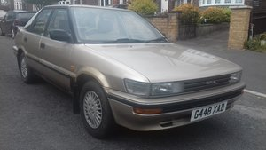 1989 Classic Toyota corolla 1.6 executive