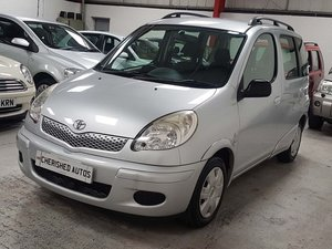 TOYOTA YARIS VERSO 1.3 VVT-i T3*GEN 44,000 MILES*AUTOMATIC