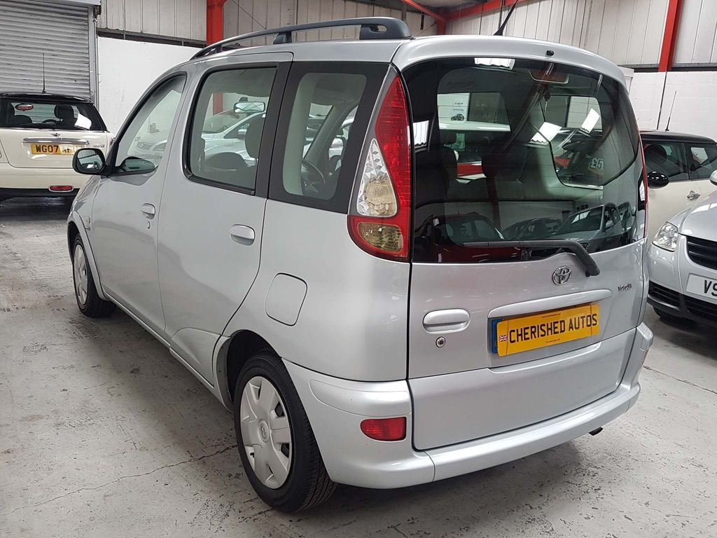 2004  TOYOTA YARIS VERSO 1.3 VVT-i T3*GEN 44,000 MILES*AUTOMATIC For Sale (picture 2 of 6)