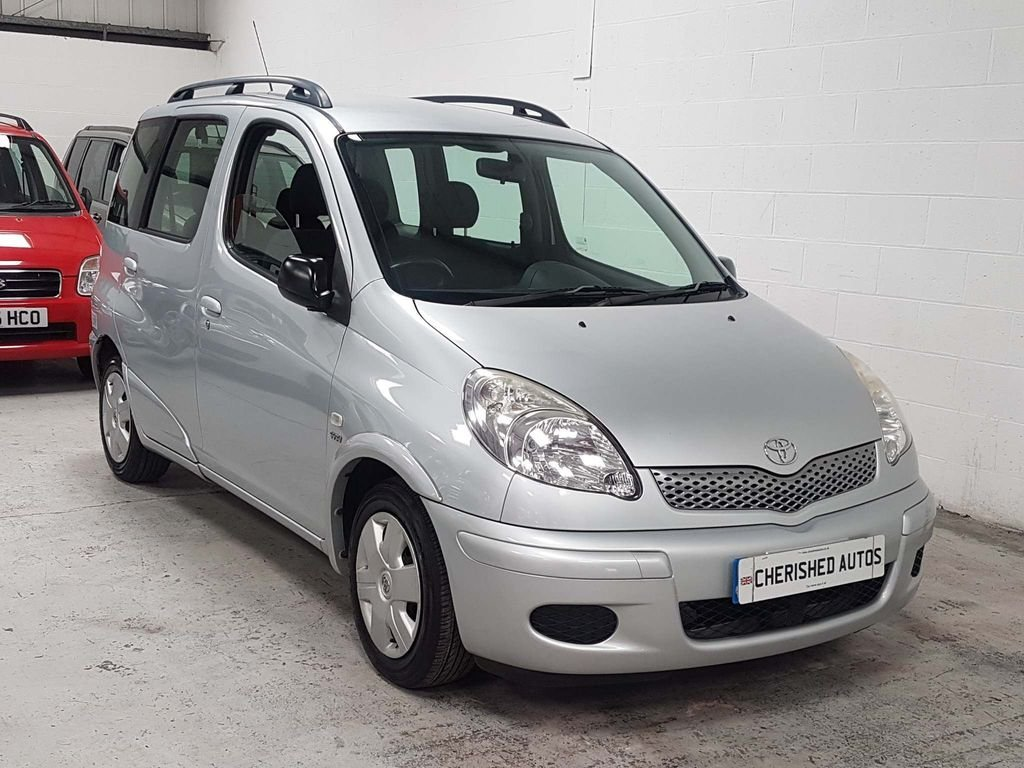 2004  TOYOTA YARIS VERSO 1.3 VVT-i T3*GEN 44,000 MILES*AUTOMATIC For Sale (picture 3 of 6)