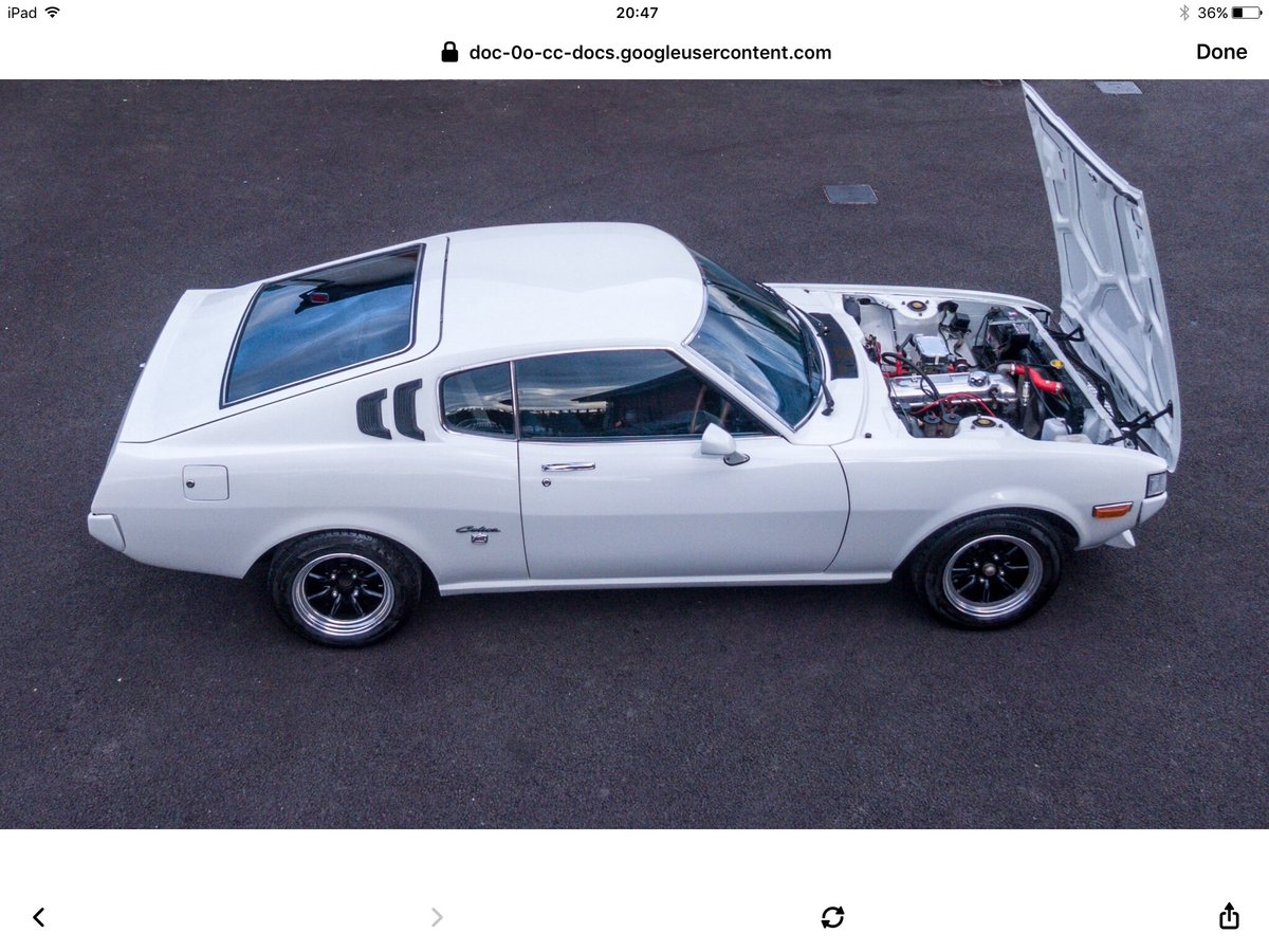 1978 Toyota celica ra28 st 2000 For Sale (picture 5 of 6)