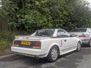 1988 Toyota MR2, track day or road