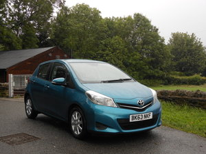 2013 23 Toyota Yaris 1.4 D4-D TR 5DR 1 Former Keeper + £20 TAX  SOLD