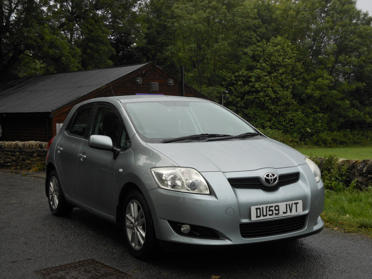 2009 Toyota Auris 1.6 TR Valvematic 5DR 6 Speed Box + 1 Form SOLD (picture 1 of 6)
