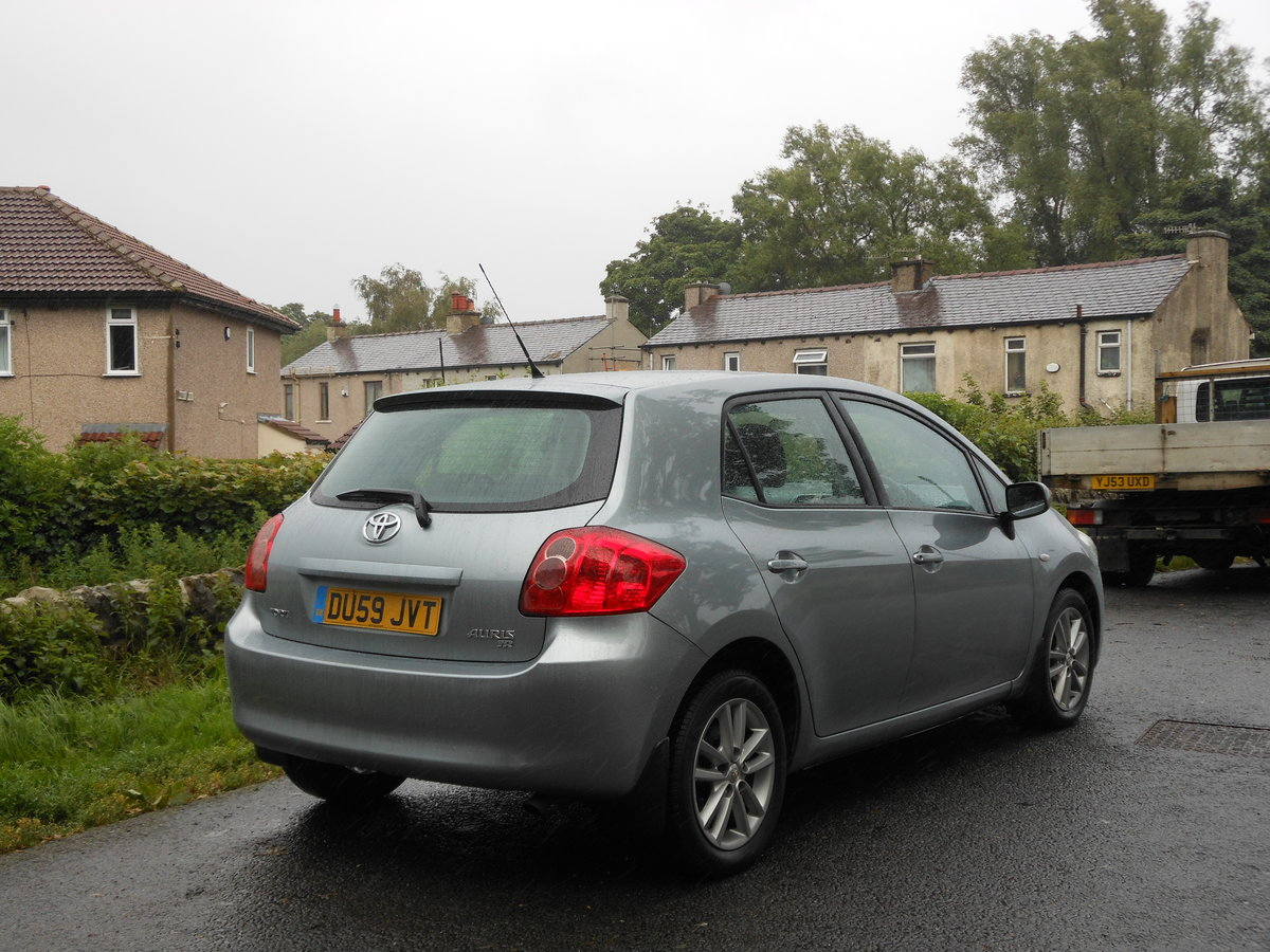 2009 Toyota Auris 1.6 TR Valvematic 5DR 6 Speed Box + 1 Form SOLD (picture 2 of 6)