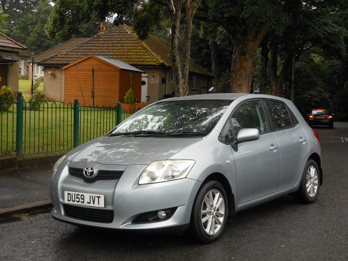 2009 Toyota Auris 1.6 TR Valvematic 5DR 6 Speed Box + 1 Form SOLD (picture 4 of 6)
