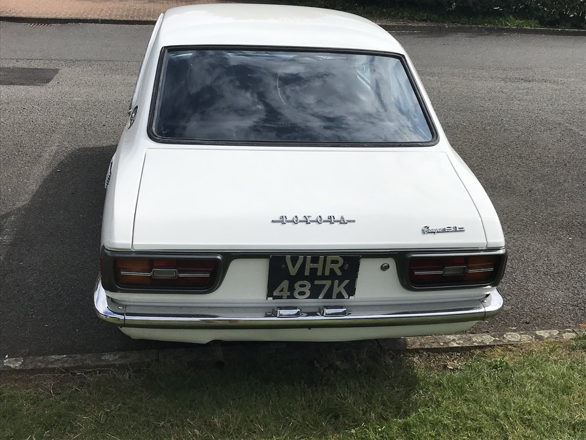 1971 Unique opportunity= toyota corolla ke25 sl coupe For Sale (picture 2 of 6)
