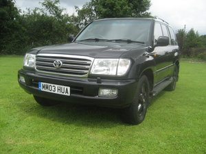 2003 Toyota Landcruiser LPG Bi Fuel Only two owners