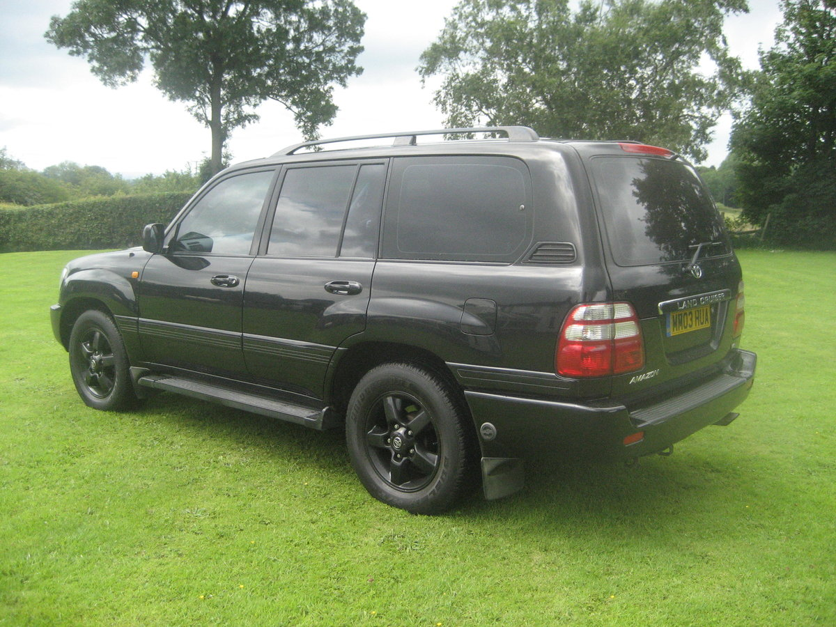 2003 Toyota Landcruiser LPG Bi Fuel Only two owners SOLD (picture 3 of 6)
