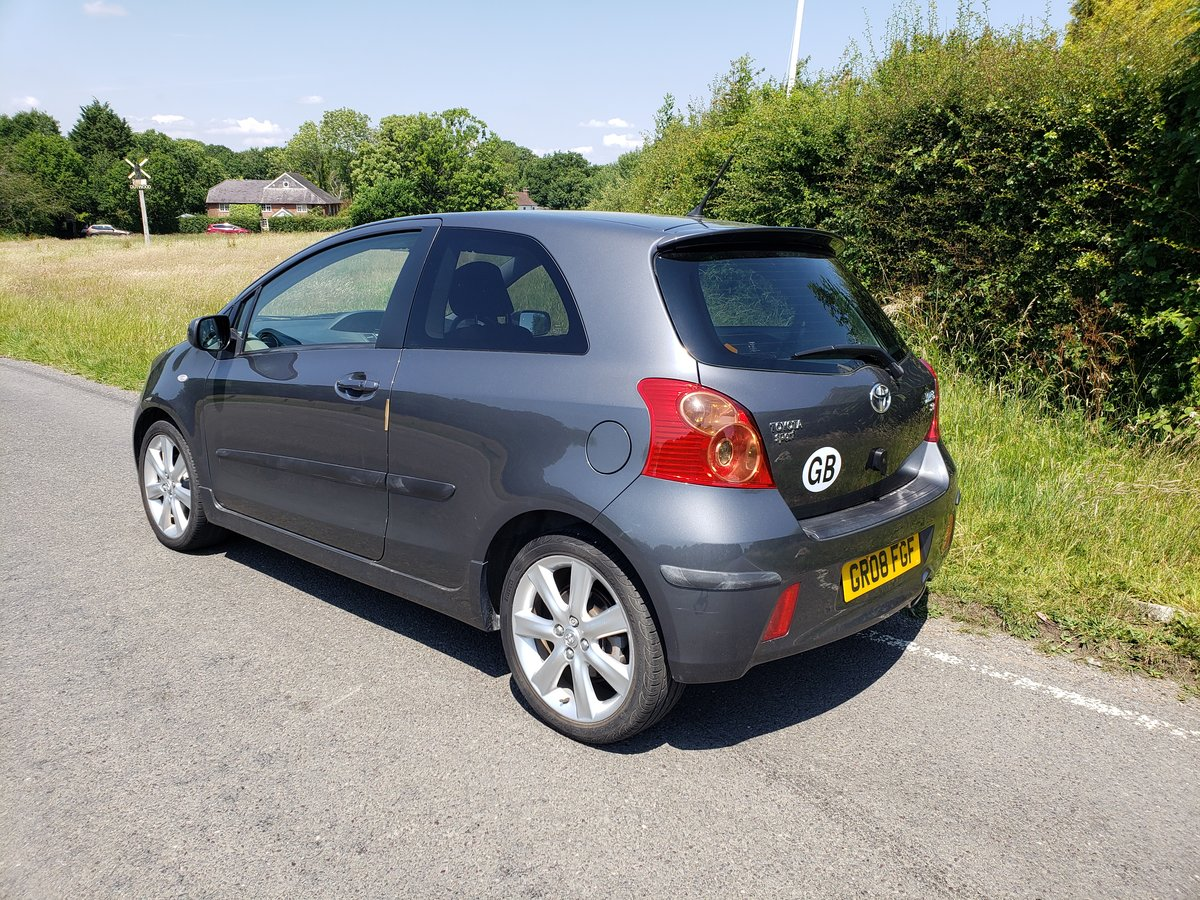 2008 Rare toyota yaris 1.6 sr sport 3 door hatch For Sale (picture 1 of 6)