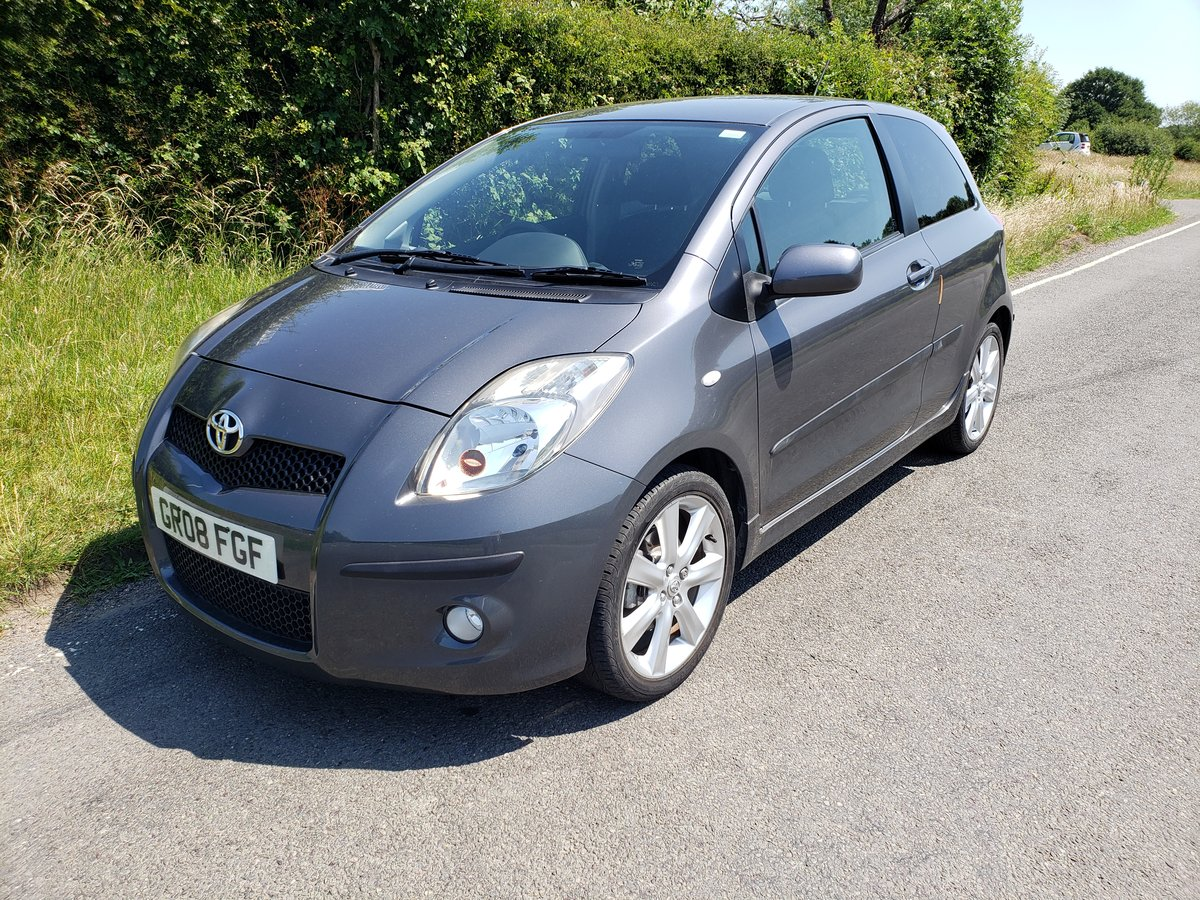 2008 Rare toyota yaris 1.6 sr sport 3 door hatch For Sale (picture 2 of 6)