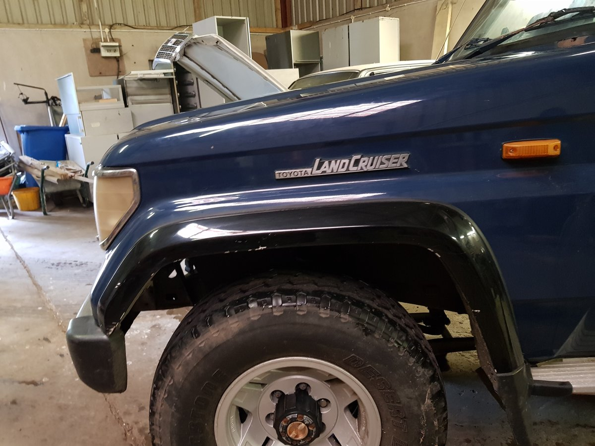 1991 Toyota Land Cruiser VX Turbo For Sale (picture 6 of 6)