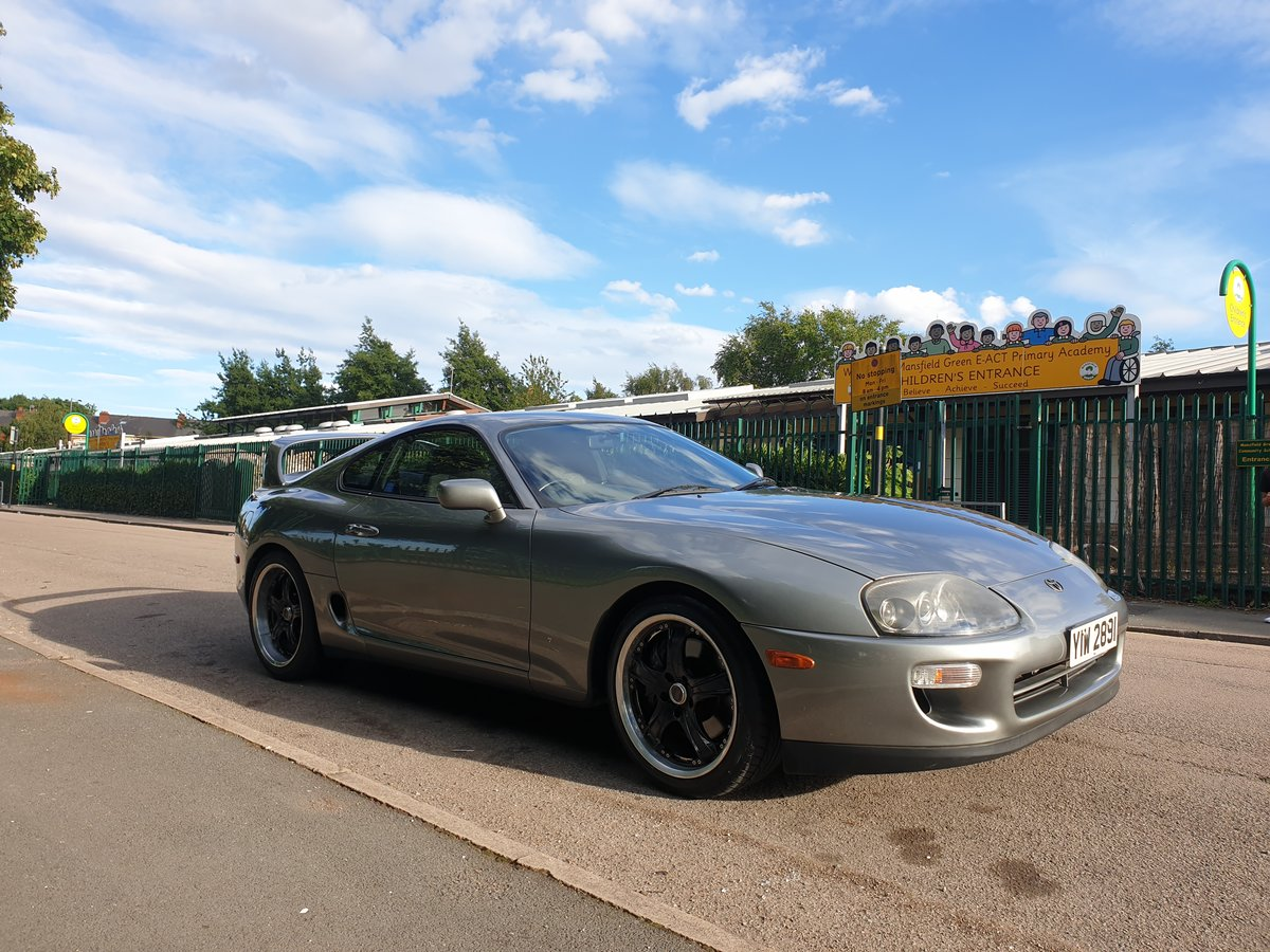 1999 SOLD!!!!toyota supra 3.0 n/a quick silver For Sale (picture 1 of 6)