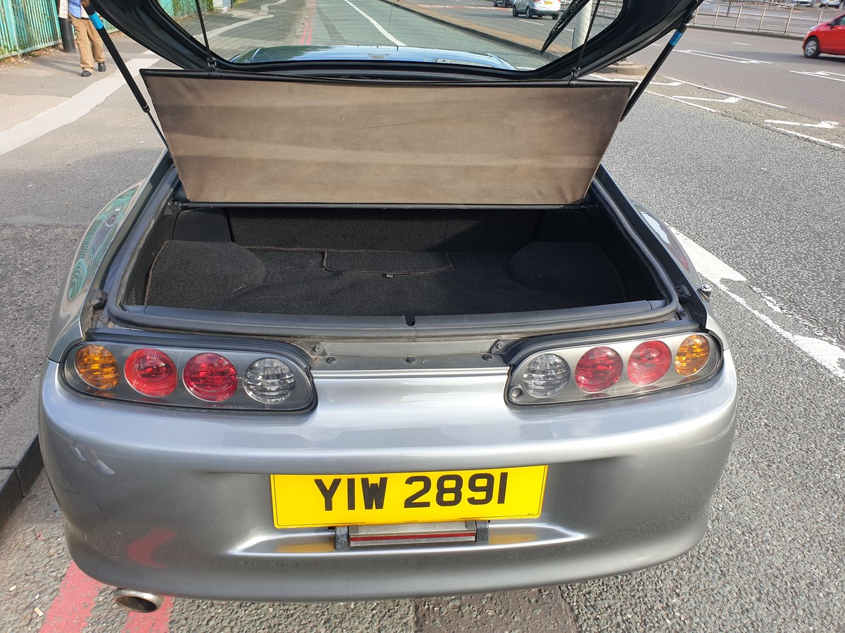 1999 SOLD!!!!toyota supra 3.0 n/a quick silver For Sale (picture 4 of 6)