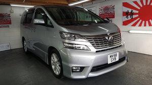 Toyota vellfire /alphard 2.4 silver automatic jap