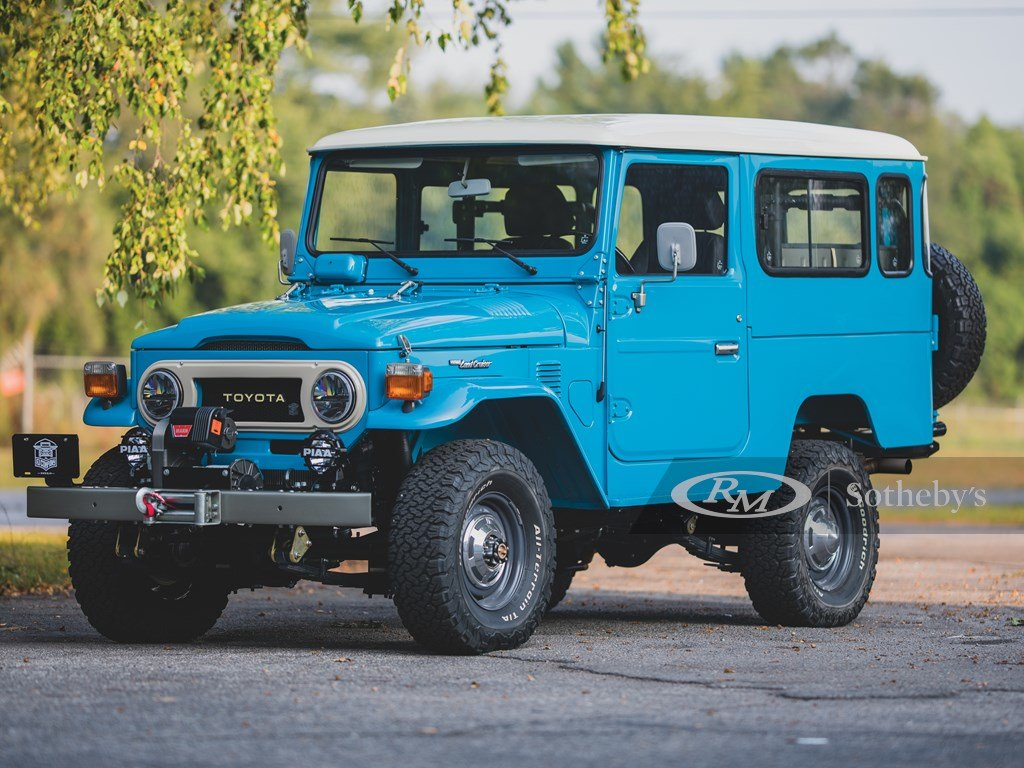 1981 Toyota FJ43 Land Cruiser  For Sale by Auction (picture 1 of 6)