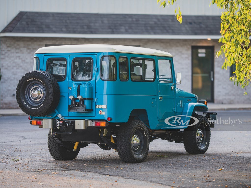 1981 Toyota FJ43 Land Cruiser  For Sale by Auction (picture 2 of 6)