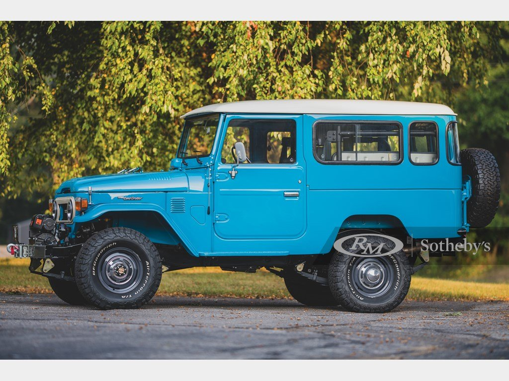 1981 Toyota FJ43 Land Cruiser  For Sale by Auction (picture 5 of 6)