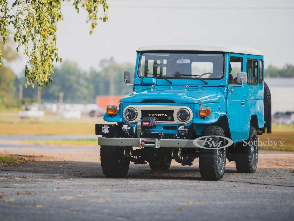 1981 Toyota FJ43 Land Cruiser  For Sale by Auction (picture 6 of 6)
