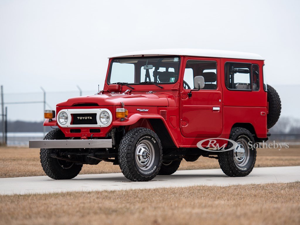 1978 Toyota FJ40 Land Cruiser  For Sale by Auction (picture 1 of 6)