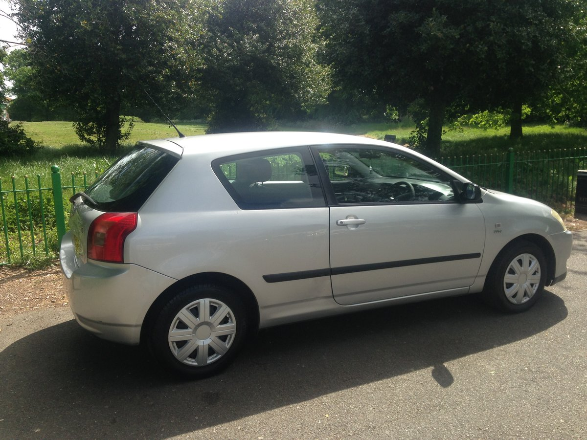 2003 Toyota corolla vvti, full history brand new clutch SOLD (picture 4 of 6)