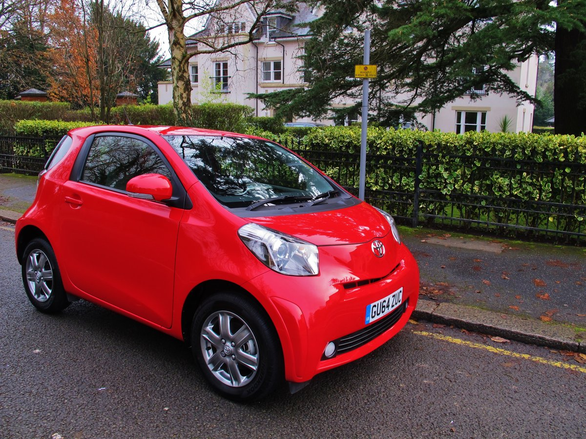 TOYOTA iQ2 AUTOMATIC 2014/64 1 OWNER  For Sale (picture 1 of 6)